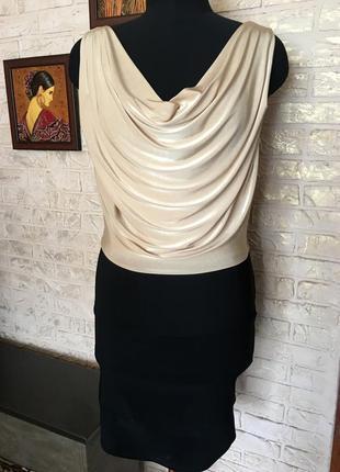 Платье качели с бандажной юбкой