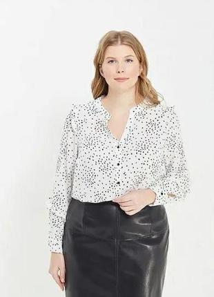 Стильная блузка,рубашка evans большого размера