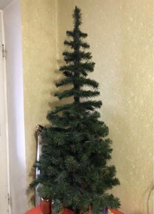 Елка искусственная, дерево новогоднее, ель 1,5 метра, ель разборн