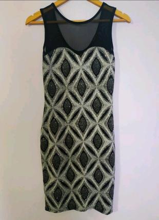 Шикарне блискуче плаття