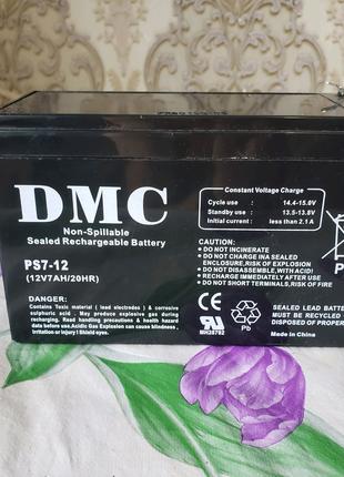 Аккумуляторы DMC 12V 7AH