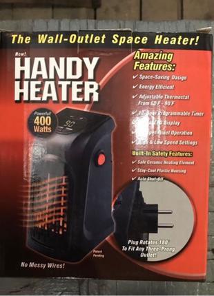 Handy Heater, портативный обогреватель, тепловентилятор 400 ватт