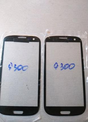 Стекло дисплея Samsung Galaxy s3 i9300 black