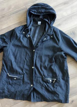 Большой размер! куртка, ветровка с капюшоном. размер евро 54 у...