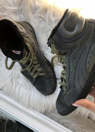 Ботинки на меху puma оригинал 36