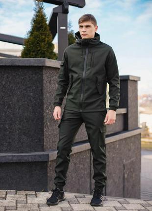 Мужской костюм демисезонный Softshell Intruder. Куртка+штаны.