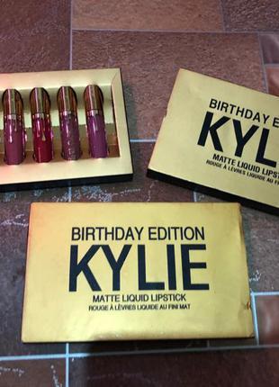 Набор матовых помад Kylie
