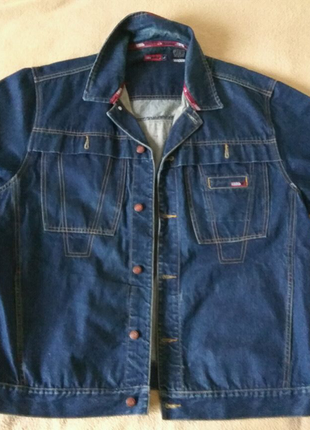 Куртка джинсовая Mecca USA синяя XL из США