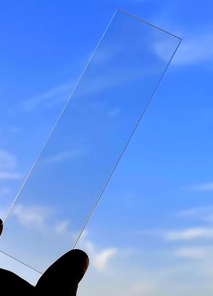 Оргстекло Акрил 153х42х2мм для ЖКИ индикаторов