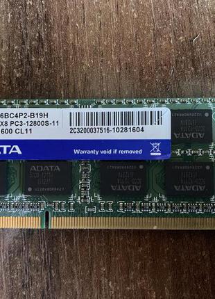 Модуль памяти SO-DIMM DDR3 4Gb ADATA 1600Mhz 12800S