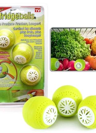 Поглотитель запахов для холодильника Fridge Balls.Освежитель
