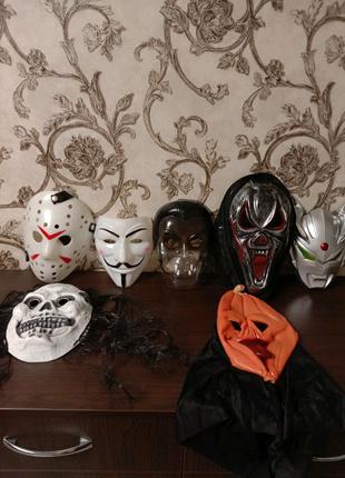 Маски Хеллоуина