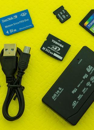 Универсальный Картридер USB Card Reader КардРидер M2 XD MMC MS CF