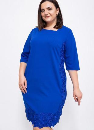 Платье 150r651 цвет электрик