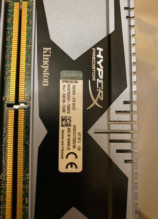 Kingston HyperX Predator DDR3 16Gb 2133MHz 2x8Gb