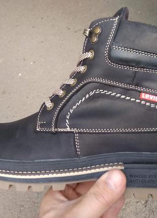 Ботинки натуральная кожа levis