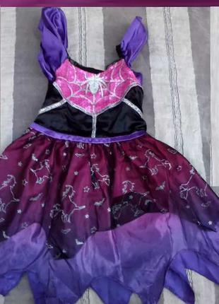 Карнавальный костюм Ведьмочка для девочки 2 - 3 лет