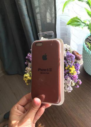 Чохол силіконовий apple silicone case для iPhone 6/6s