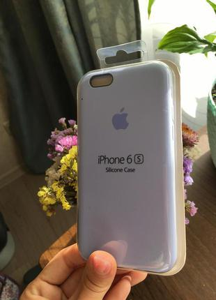 Чехол на айфон 6/6с силиконовый apple silicone case для iphone
