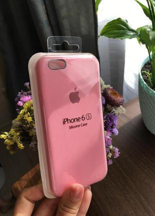Чехол на айфон 6/6s силиконовый apple silicone case для iphone