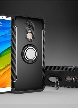 Xiaomi Redmi 4X - Чехол, Бампер с Кольцом Магнитный
