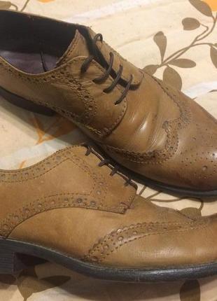 Burton menswear london броги оксфорды туфли
