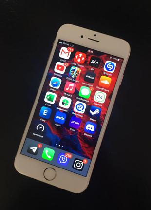 Iphone 6s Gold, Neverlock, 64gb (А1688)