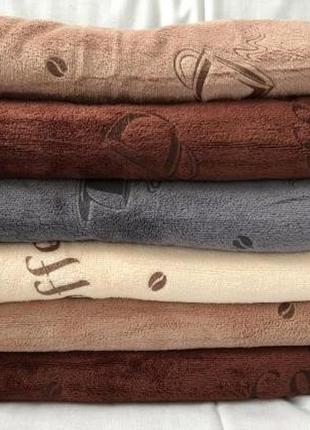 Набор полотенец микрофибра размер 25 х 50 (3 штуки)