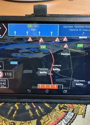 Планшет - навигатор Asus MeMO Pad 8 (IPS,16/1Гб) c IGO primo next