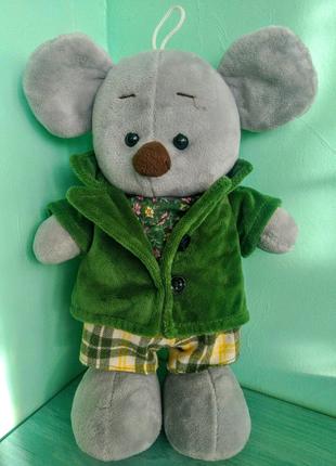 Мягкая плюшевая игрушка Мышонок, производитель Toys, высота 30 см
