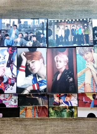 Ломо карты корейских k-pop групп BTS, BLACKPINK, EXO, WANNA ONE,