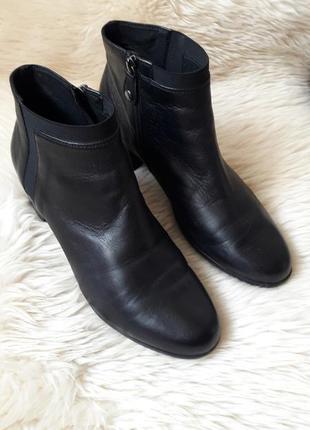 Кожаные ботинки/ботильоны geox 40 размер