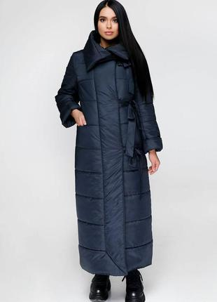 Распродажа: пуховик длинный зимний, пальто стеганое