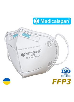 Маска Респиратор Medicalspan FFP3
