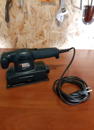 Шлифовальная машина вибрационная Black&Decker