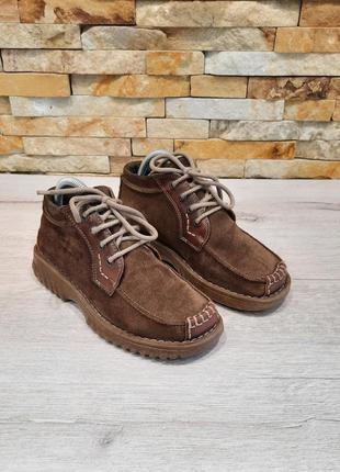 Мужские ботинки от camel active натуральный замш  размер 37