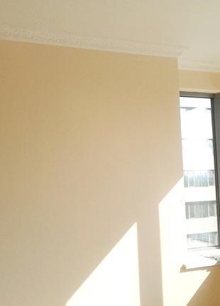 Покраска потолка, стен