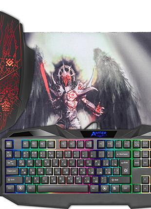Клавіатура комп Defender MKP 019 мишка/коврик/клавіатура
