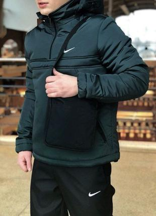 Мужская куртка теплая Анорак Дождевик Ветровка 6 расцветок Нал...
