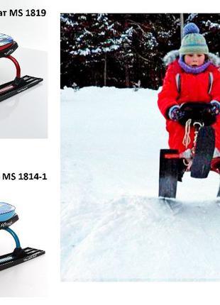 """Детские снегокаты """"PROFI""""с мягким сиденьем и низкой посадкой"""