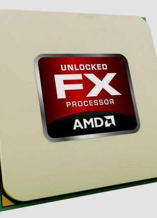 Четырехядерный AMD FX-4300 3.8 Ghz, AM3+ , 95 Вт.