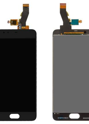 Дисплей Meizu M5s (M612)/ M5s mini с сенсором Черный