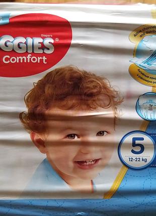 Подгузники Huggies ultra comfort 5 (12-22кг) 42шт