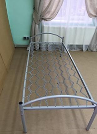 Кровать металлическая одноярусная 190х70 см