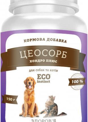 Минеральный комплекс цеосорб хондро плюс, для собак и котов 140гр