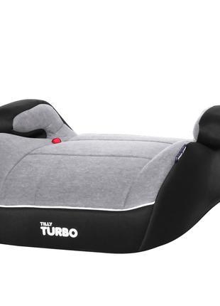 Автокресло-бустер TILLY Turbo T-541/2 Gray