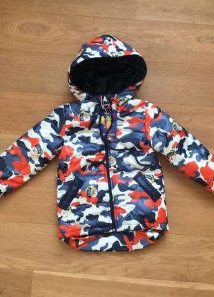Весенняя куртка на мальчика от 3 до 7 лет