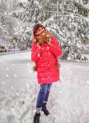 Зимнее пальто зимний пуховик