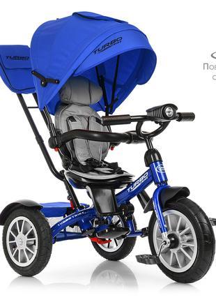 Велосипед детский трехколесный TurboTrike М 4057-10 поворотный