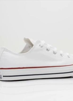 Тренд лета:) кеды белые низкие / кеди білі низькі